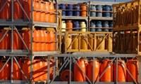 Rückgabe von Druckgasflaschen der Firma Praxair